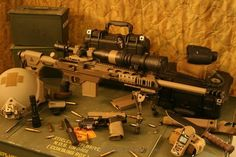Remington 700 in a MDT Tac 21 chassis.