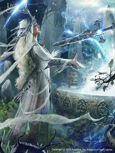 Discover a selection of art by Ignacio Bazán Lazcano who's recently worked for projects as Legend of the Cryptids, Galaxy Saga, Star Wars, Lord of the Rin Fantasy Girl, Fantasy Art Women, Fantasy Images, Fantasy Artwork, Boris Vallejo, Snow Queen, Warrior Concept Art, Elves And Fairies, Mystique