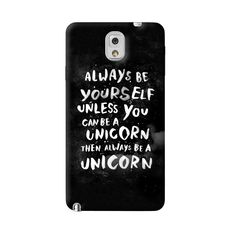 Be A Unicorn Samsung Galaxy Note 3 Case from Cyankart