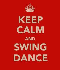 I love swing dancing (: