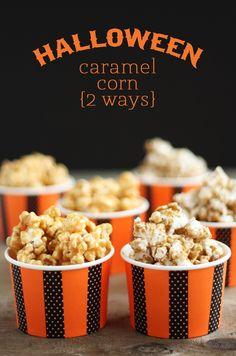Caramel Corn 2 ways