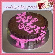 Kit Kat and Chocolate Mouse Cake