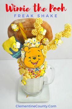 Winnie the Pooh Milkshake