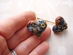 Steampunk polymer clay | Art from my Heart