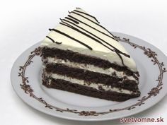 Skutočne výborný zákusok z obľúbeného mascarpone v jemnej nadýchanej kakaovej piškóte. Je tak jednoduchý, že sa pri jeho príprave ozaj nič nemôže pokaziť a zvládne ho aj cukrárenský začiatočník, stačí dodržať presný postup :) Chocolate Cake, Tiramisu, Recipies, Cheesecake, Baking, Breakfast, Ethnic Recipes, Sweet, Food