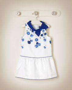 Floral Duppioni Dress