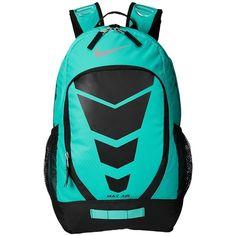 Nike Max Air Vapor Backpack ($70) ❤ liked on Polyvore featuring bags, backpacks, nike backpack, nike, blue bag, nike bag and backpacks bags