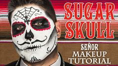 Male Sugar Skull Makeup Tutorial | #WHCdoesSFX