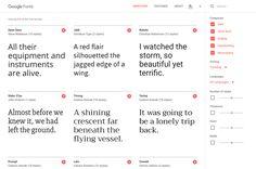 Find Free Fonts On Google's Slick New Site   Co.Design   business + design