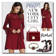 romwe 7 by dinka1-749 on Polyvore featuring polyvore fashion style clothing