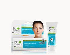 MẶT WHITENING CREAM làm giảm đốm đen  và nhạt DA Bio Balance Whitening Cream được đặc chế để làm sáng da tổng thể và giảm sự xuất hiện của các đốm đồi mồi, tàn nhang, đốm nắng, nám, mụn, nhạt da và các vết bớt.