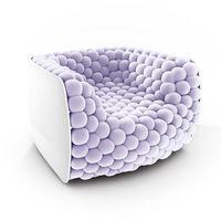 Blurberry armchair byCarlo ColomboforBYografia