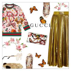 """Presenting the Gucci Garden Exclusive Collection"" by danielle-487 ❤ liked on Polyvore featuring Gucci and gucci"