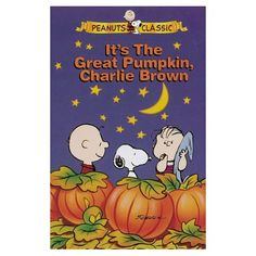 Fav kids Halloween video back in the day! Love Charlie Brown!  Great little book too!