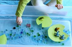 FUN AT HOME WITH KIDS: Simple Small Worlds: Frog World