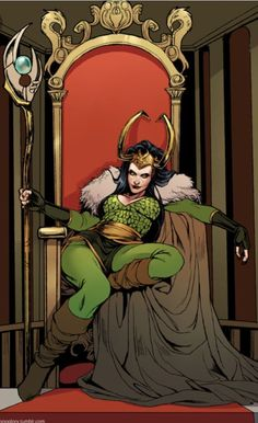 [OLD] God or Goddess? (Lady Loki Fanfiction) - ~This QWEEN~