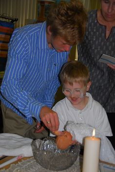 Teaching Baptism through Godly play