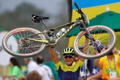 WOMEN'S MOUNTAIN BIKE RACE — JENNY RISSVEDS — SCOTT SPARK RC 700