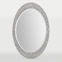 "Buy the Ren Wil MT1414 Sirens 24"" Oval Beveled Wall Mounted Mirror with Stainless Steel Frame. In-stock at Build.com. Read the latest reviews for the Ren Wil MT1414 Sirens 24"" Oval Beveled Wall Mounted Mirror with Stainless Steel Frame."