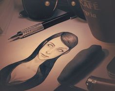 Sketches on the Wacom Gallery Face Sketch, Behance, Sketch Painting, Art Sketchbook, Drawing People, Beautiful Artwork, Creative Art, Art Sketches, Illustration Art