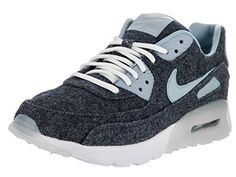 huge selection of 14b6e 2ac28 Nike Womens Air Max 90 Ultra PRM Midnight NavyBlue Grey White Running Shoe  8 Women US