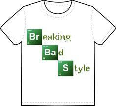 Breaking Bad t-shirt style Breaking Bad, Shirt Style, Mens Tops, T Shirt, Supreme T Shirt, Tee Shirt, Tee