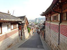북촌한옥마을 (Bukchon Hanok Village) in 서울특별시: http://theitinerantlinguist.blogspot.com/2015/04/a-walk-through-history.html