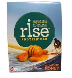 Rise Bar, Protein + Bar, Almond Honey, 12 Bars, 2.1 oz (60 g) Each Protein  #risebar