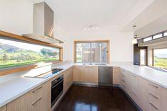 Green Homes Australia Smeg Kitchen, Kitchen Cabinets, Kitchen Appliances, Interior Design Kitchen, Interior Decorating, Kitchen Designs, Green House Design, Green Home Decor, Energy Efficient Homes
