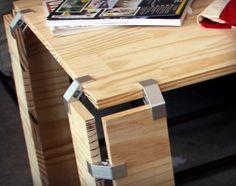 PLY90 Klammern machen jeden zum Möbel Designer