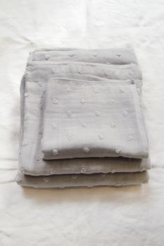 Makie : Uchino Gauze Zero Twist - Gray Cotton, Polyester / Made in Japan / available in: Gray Soft Towels, Bath Towels, Japanese Bath, Dobby Weave, Sustainable Textiles, Linens And Lace, Farmhouse Chic, Soft Furnishings, Decorating Your Home