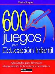 600 juegos para educacion infantil