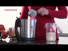 Make chicken soup in no time using the Morphy Richards Soup Maker. Morphy Richards Soup Maker, Chicken Soup Recipes, Winter Food, Food Videos, Stew, Coffee Maker, Soup Makers, Mugs, Cooking
