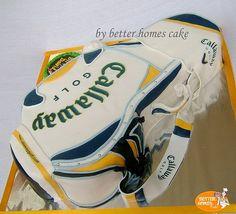 Golf Bag Cake -1 by better homes cake, via Flickr