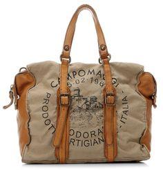 Lavata Fibbie Handbag beige 33 | Campomaggi
