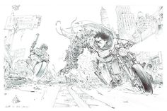 TRIBUTE TO OTOMO by kim jung gi - Google Search