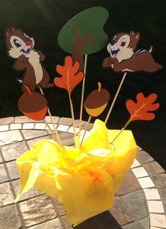 Chip and Dale Centerpiece Mickey Mouse Clubhouse