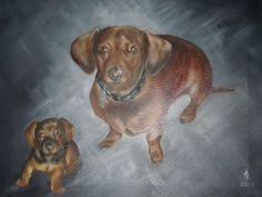 Bentley, an oil painting by Ann Ohr