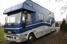 This 2001 #Ford Iveco #horsebox carries up to three horses | For #sale on #HorseDeals