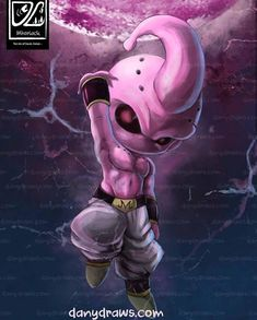 More Dragon Ball in your life 😍🔥 Majin Boo Kid, Z Tattoo, Chibi Characters, Anime Tattoos, Z Arts, Dragon Ball Gt, Dark Fantasy Art, Illustrations, Photos