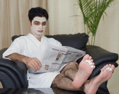 I give Brian facials lol Men pedicure home | Are Modern Men Manly Enough? - Room for Debate - NYTimes.com