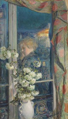 Near the Window - Maria Yakunchikova