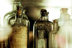 """""""I looked into that empty bottle and I saw myself."""" by anniebluesky."""