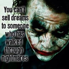 So says the Joker