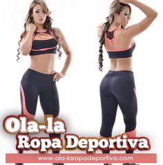 Empieza el 2015 con nuestra nueva colección en ropa deportiva.  CONJUNTO DEPORTIVO. Referencia: 4069.  Legguins tipo pitillo hasta el tobillo, con cortes dinámicos que imprimen movimiento a largo de la pierna. Top deportivo a tono, con tirantes anchos y moderno corte que resalta tu busto.  http://www.ola-laropadeportiva.com/…/120-conjunto-deportivo…  #Legguins #TOP #Deporte #Fitness #Colombia #Manizales