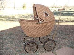 Antique 1930s Lloyd Baby Doll Carriage by TheRightSpot on Etsy, $188.00