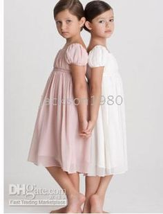b6a4ad944aac simple flower girl dress- these are exactly what I want! Now I just need a flower  girl.