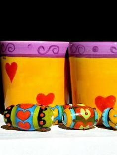hommage to frida kahlo  glassbeads by carla di francesco