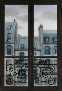 Abriendo Puertas y Ventanas... Rainy Day, Paris, France  (photo via lavva)