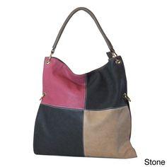 """""""""""Lunak"""""""" Colorblock Tote Bag"""